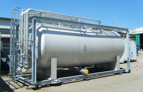 Industrial boiler PCVS
