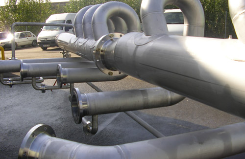 Industrial piping PCVS