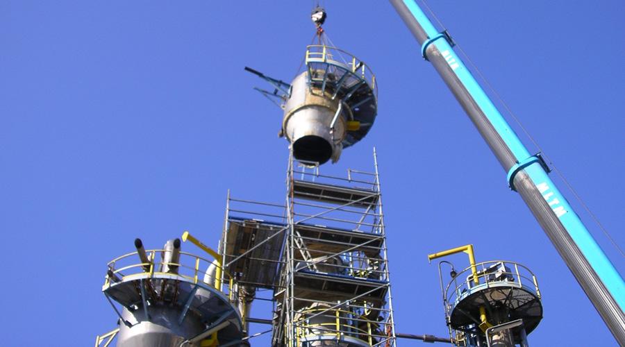 Maintenance industrielle tuyauterie chaudronnerie PCVS