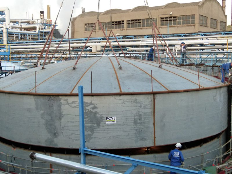 Portfolio 23 : Vessel assembly on-site