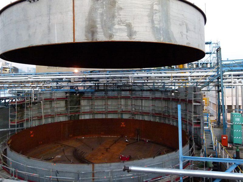 Portfolio 27 : Vessel assembly on-site